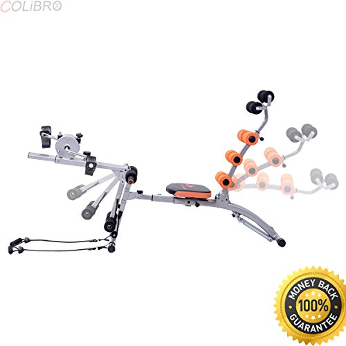 COLIBROX--Multi-functional Twister AB Rocket Abdominal Trainer Core Trainer Bench Stepper. ab rocket twister price. ab rocket twister manual. ab rocket twister abdominal trainer. ab rocket exercises. by COLIBROX