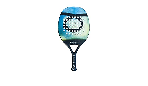 Amazon.com : Tom Caruso Beach Tennis Racket Zen Customizable Racchetta : Sports & Outdoors