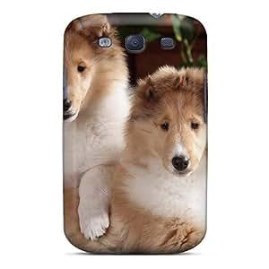 Galaxy S3 Collies Print High Quality Tpu Gel Frame Case Cover by icecream design