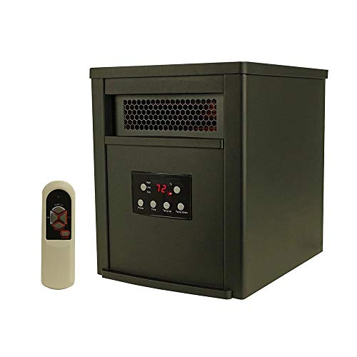 LifeSmart 6 Element w/Remote Large Room Infrared Heater, ()