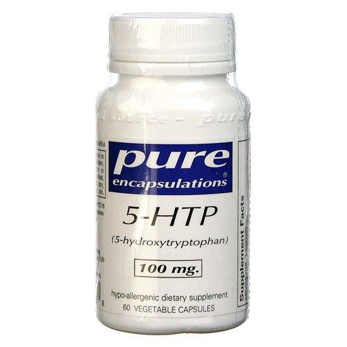 Pure Encapsulations 5-HTP -- 100 mg - 60 Capsules - 3PC