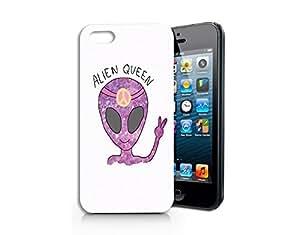 Alien Queen Plastic Phone Case for iphone 5S_ SUPERTRAMPshop