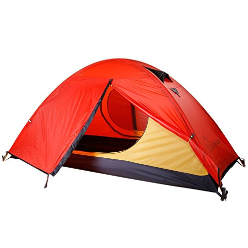 WolfWise 1 Person Lightweight Camping Backpacking Tent