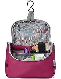 Hanging Travel Toiletry Bag, 7.1 x 2.4 x 9.3-Inch For Men & Women-5836