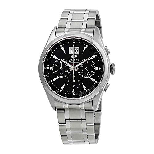 - Orient Chronomaster Chronograph Black Dial Mens Watch FTV01003B