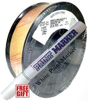 "Welding Gasless Flux-Cored MIG Welding Wire E71T-11 .035/"" 10-lbUS Seller"