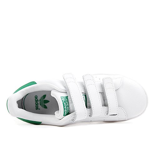 adidas Stan Smith CF C - Zapatillas para niño White