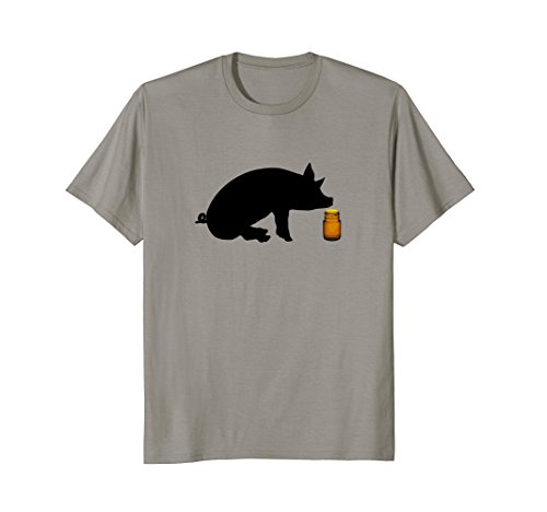 Mens Little Brown Bottle Popper Pig Head Cleaner Gay Mens T-Shirt