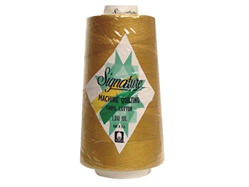 Signature Thread Signature 100% Ctn Quilt Thread 3000yd Mustard Cotton 3000
