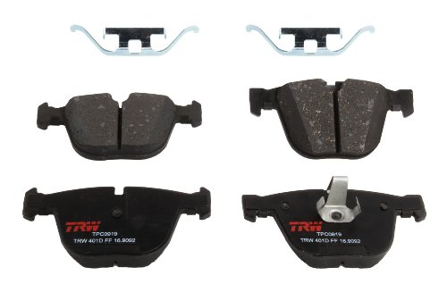 TRW TPC0919 Black Premium Ceramic Rear Disc Brake Pad Set