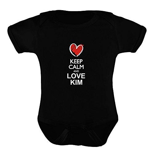 Idakoos - Keep calm and love Kim chalk style - Last Names - Baby (Kim Possible As A Baby)