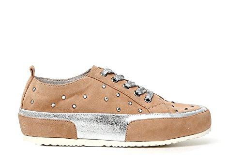 Low Sneakers Wild 085 GHIACCIO Noir Cafè Spitze Strass CAFèNOIR KDE525 Iwq6tKa