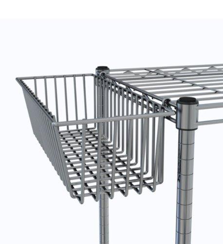 Intermetro Storage Basket (InterMETRO LA209W Storage Basket)