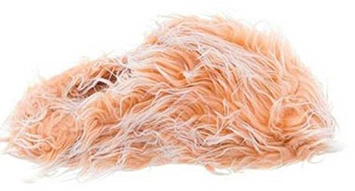 Slippers Orange Furry Womens Fuzzy Beige XH44wq