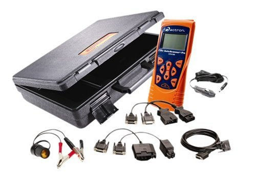 Actron CP9190 Elite AutoScanner Pro Diagnostic Code Scanner Kit (Includes CP9185 Base Scanner, OBDI & OBDII Cables with Hard Case)