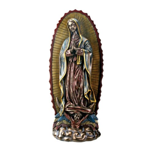 Large Our Lady of Guadalupe Virgin Mary Catholic Statue