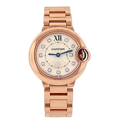 Cartier Ballon Bleu Analog-Quartz Female Watch 3007 (Certified Pre-Owned)