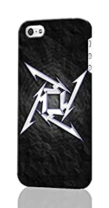 metallica Pattern Image - Protective 3d Rough - Hard Plastic 3D Case - For Ipod Touch 5 Phone Case Cover