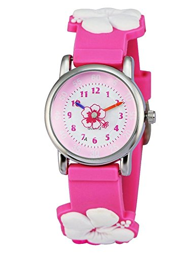 Zeiger Time Teacher Little Boys Children's First Wrist Kids Cartoon Character 3D Watches 0114