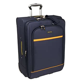 "Nautica  Nautica Spectator 28"" Suitcase,Navy/Yellow,One Size"