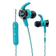 Monster MH ISRT VIC IE BL BT WW Bluetooth Sport Sweat-Resistant iSport Victory Wireless Headphones, Blue