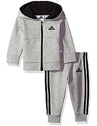 Baby Boys Jacket Set, Grey Heather, 12M