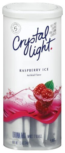 Crystal Light Raspberry Ice Flavor Drink Mix - 6 CT (Pack of 12) by Crystal Light