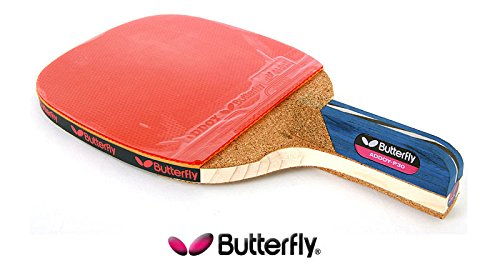 BUTTERFLY Table Tennis Racket Paddle - ADDOY P30 Penholder Grip ...