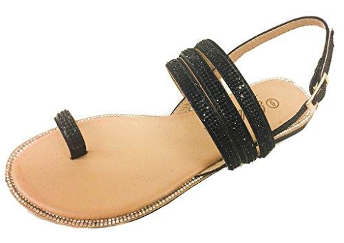 Thong Flat Heel Sandal - 9