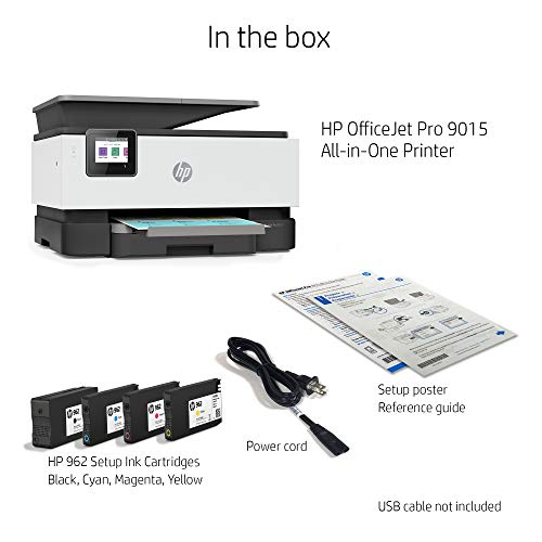 HP OfficeJet Pro 9015 All-in-One Wireless Printer, with Smart Tasks for Smart Office Productivity & Never Run Out of Ink with HP Instant Ink (1KR42A) by HP (Image #8)