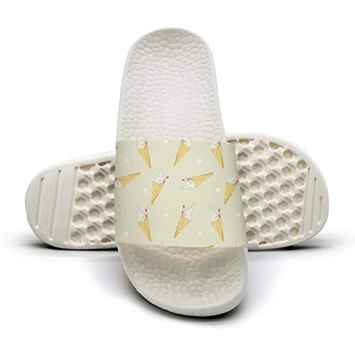 Ina Fers.Slide Sandals For Women Ice-cream Cones Cones Cones Summer Time Indoor/Bath Slipper Anti-Slip House Sandal B07GPQLVJP Shoes 4932e1