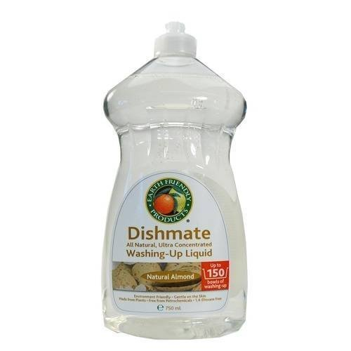 Earth Friendly Products Dishmate, Natural Almond, 25 Ounce (Pack of 3) Dishmate Natural
