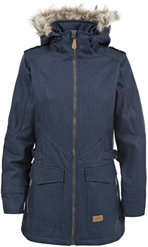 Trespass Everyday Womens Waterproof Jacket with Removable Fur