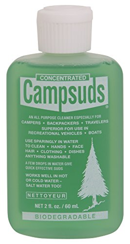 Sierra Dawn Campsuds All Purpose Cleaner, 2-Ounce (The Best Soap To Use)