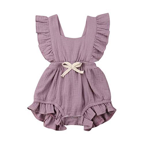 Crystallly Baby Meisje Kleding Sets Prinses Baby Strik Pasgeboren Kleding Bodysuit Eenvoudige Stijl Bodysuits Zelfs…