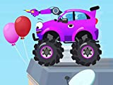 Purple Monster Truck