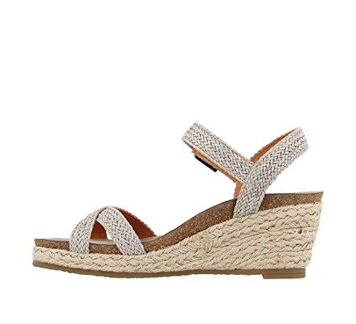 Sandal Footwear Stone Jute Taos Hey Women's IRxSSFP