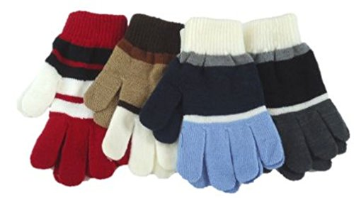 Set of Four Pairs of One Size Magic Stress Gloves for Ages 5-15 Years by Gita