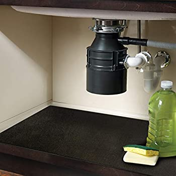 Amazon Com Itsoft Under The Sink Mat Kitchen Tray Drip