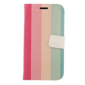 GOG-Coloured RiGOG-on Drawing Pattern Faux Leather Hard Plastic Cover Pouches for Samsung Galaxy S3 I9300
