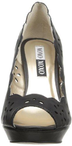 XOXO Women's Belinda Dress Pump,Black,6 M US