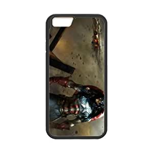 Captain America Iphone6 plus 5.5 inch Phone Case Black white Gift Holiday Gifts Souvenir Halloween Gift Christmas Gifts TIGER157010