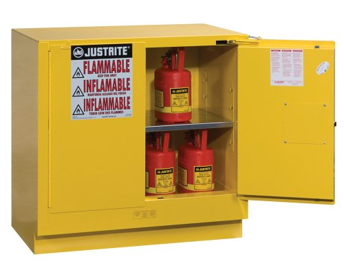 1 Undercounter Safe (Justrite 892320 Sure-Grip EX 35
