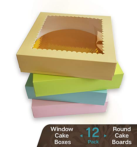 pink pie boxes - 1