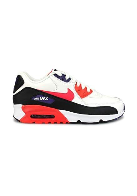 Nike Boys Air Max 90 LTR (Gs) Running Shoes