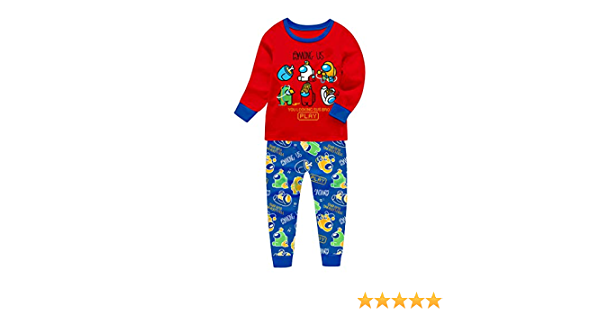 Conjunto de pijama de algodón para niños con texto en inglés ...