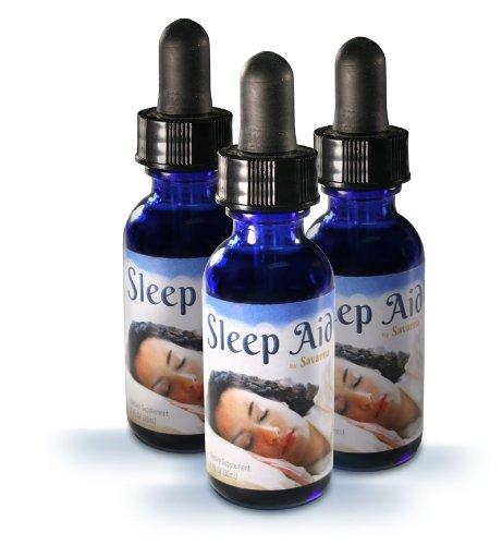 3 Bouteilles de sommeil aide Liquide - Tous remède naturel meilleure santé - Supplément sommeil est un neuromodulateur équilibrer l'sérotonine et de mélatonine - réduit le stress, l'anxiété, l'agitation, la tension, la nervosité et la douleur - naturellem