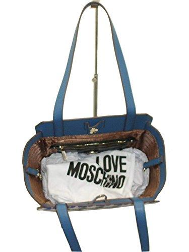 Love Moschino , Damen Umhängetasche mehrfarbig blau