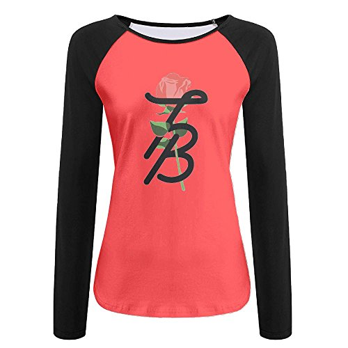 Tghd86 Znn Tessa Brooks Women's T-Shirt Is A Custom-Made Floral Long-Sleeved Ruffle Lady's - Jackets Custom Lululemon