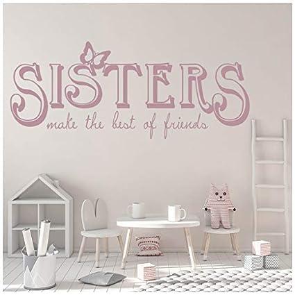 Amazon com: banytree Sisters Friends Wall Sticker Family
